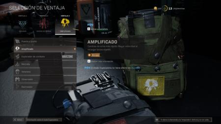 Amplificado Warzone