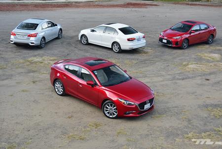 Mazda3 Vs Nissan Sentra Vs Volkswagen Jetta Vs Toyota Corolla 5