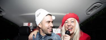 He probado el servicio de karaoke móvil de Uber y me parece un planazo para las comidas y cenas de Navidad