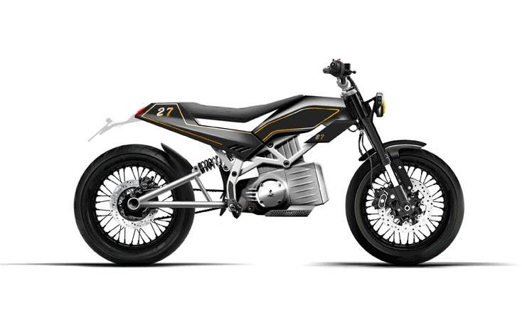 Gloria Electric Motorcycle 1