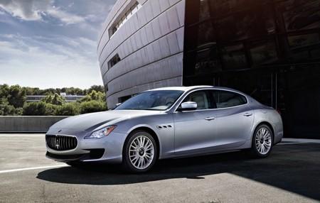 Maserati Quattroporte diesel gris plata