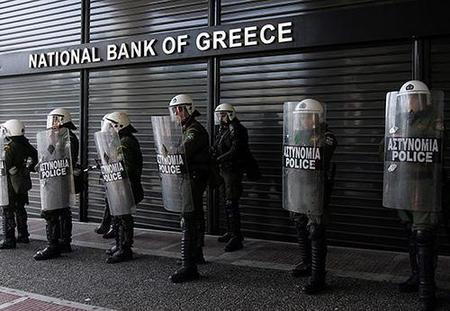 Grecia comienza a temer un corralito