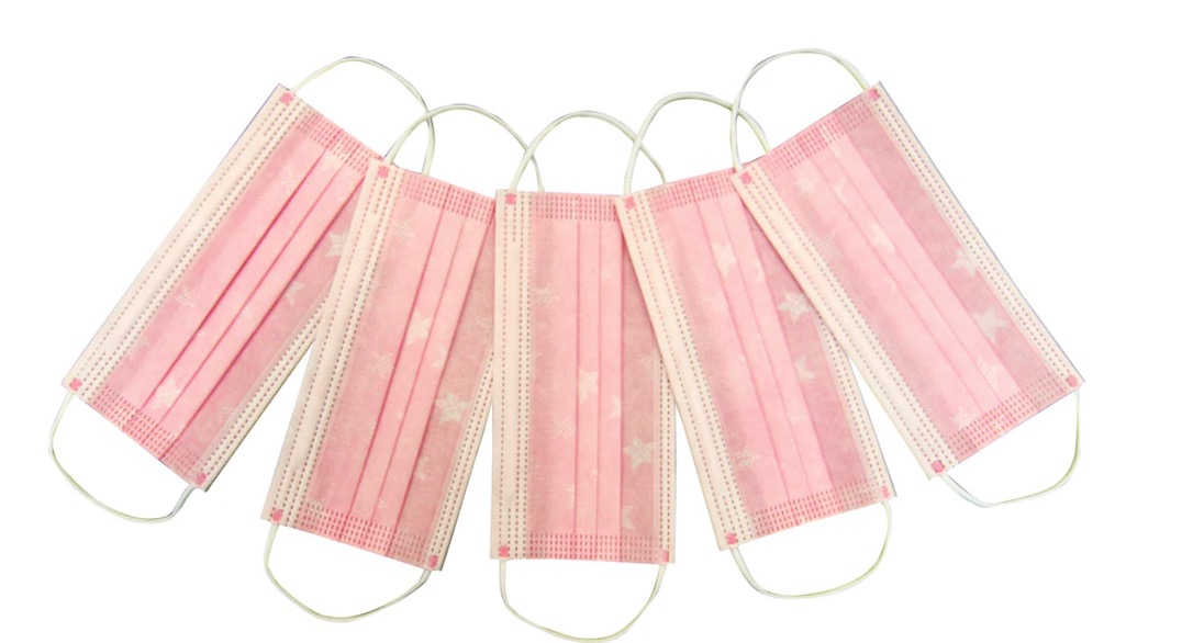 20 mascarillas higiénicas desechables infantiles estampadas de 3 capas WINNER Cumple con las especificaciones técnicas UNE 0064-2: 2020.