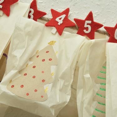 15 calendarios de adviento DIY para hacer con niños