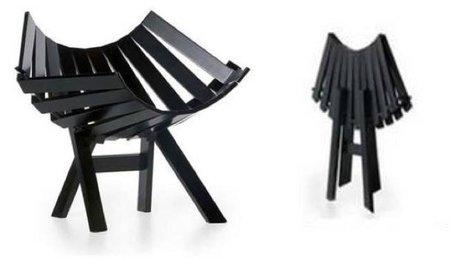 Clip chair, una silla plegable de diseño
