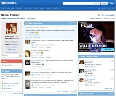 MySpace ofrece sincronización con Twitter