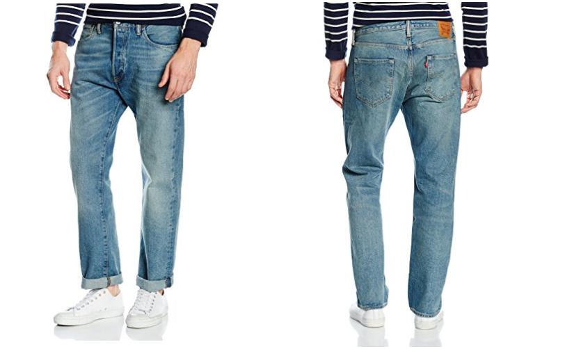 pantalones levi 39 s 501 original fit para hombre rebajados de 110 a s lo 49 90. Black Bedroom Furniture Sets. Home Design Ideas