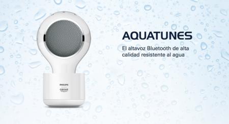 Grohe y Philips llevan la música a la ducha con su altavoz Aquatunes