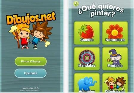 Dibujos.net: aplicación gratuita para pintar en el iPhone o el iPad