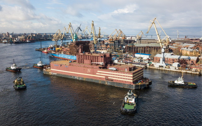 Russia Floating Nuclear Power Plant 1