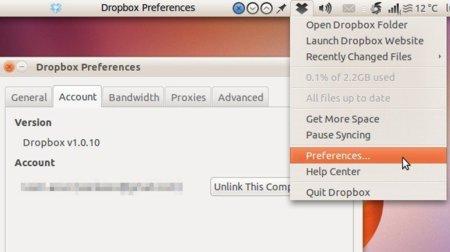 Como actualizar Dropbox a la versión 1.0 en Ubuntu
