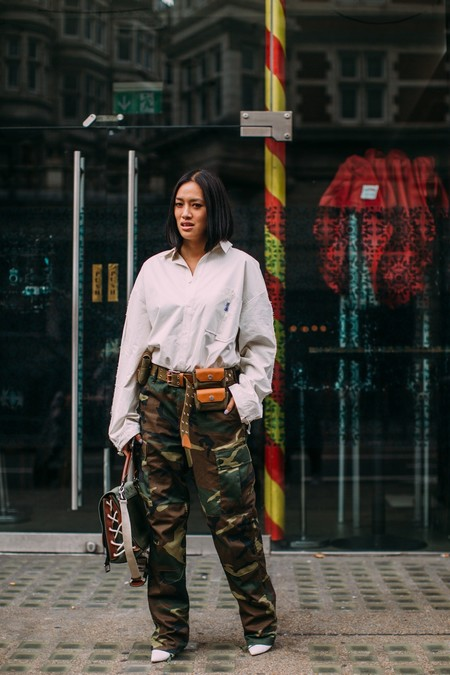 Pantalones Cargo Street Style 03