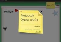 Opera Unite, añadiendo un servidor al navegador