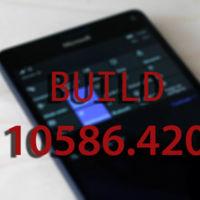 Microsoft libera la Build Build 10586.420 para los Insider del anillo Release Preview