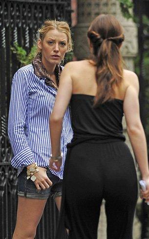 El peor estilismo de Leighton Meester como Blair Waldorf en Gossip Girl II