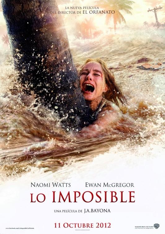 Foto de 'Lo imposible', todos los carteles (1/5)