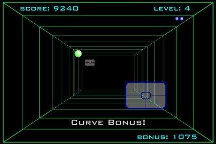 Curveball, un adictivo Pong en 3D