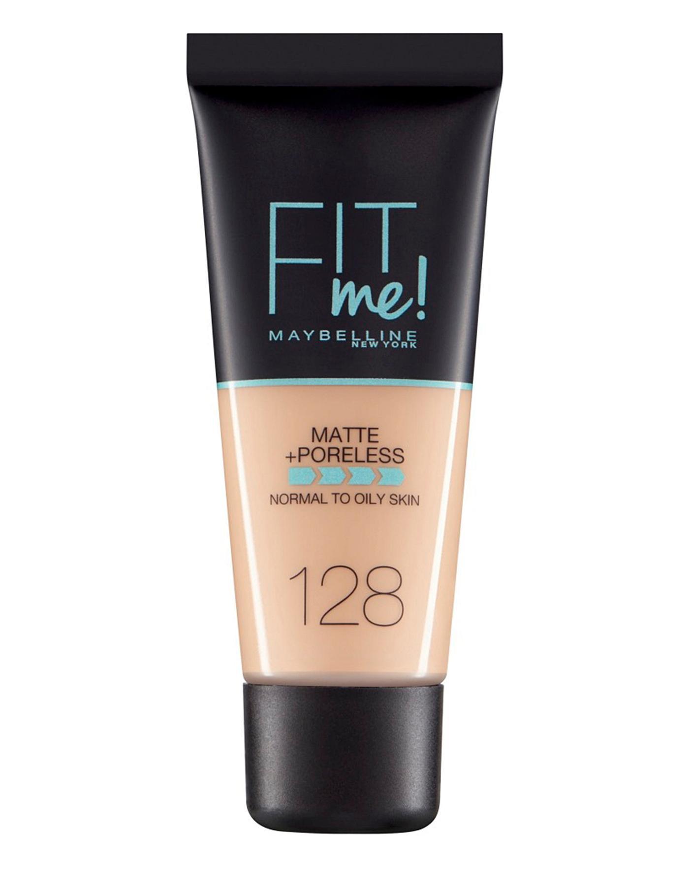 Base de Maquillaje Fit Me Matte + Poreless Maybelline