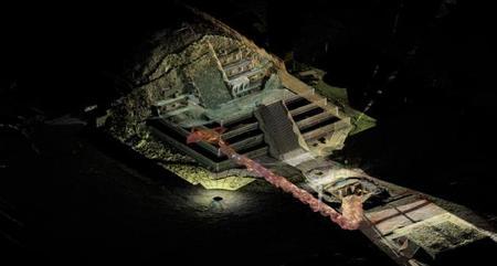 Importante hallazgo bajo el templo de Quetzalcóatl en Teotihuacán