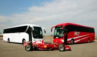 El equipo Ferrari de F1 estrena autobús
