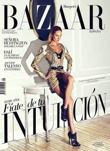 Candice Swanepoel triunfa en las revistas: Harper's Bazaar y V Magazine se rinden ante sus encantos, ¿quién no?