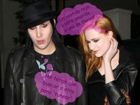 Evan Rachel Wood vuelve a ser de colores, ella y Marilyn Manson rompen... otra vez