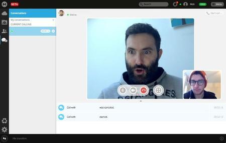 Ya disponible MegaChat, el servicio de chat y videochat cifrado de Kim Dotcom