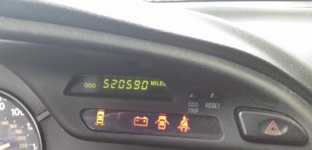 No es broma, este Toyota Supra tiene 837.808 kilómetros en su marcador