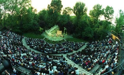 Open Air Theatre: cultura al aire libre en Londres