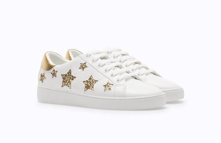 Saint Laurent Clon Zapatillas Sneakers Estrellas Stradivarius 2