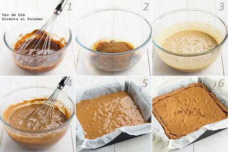 Receta de brownie de café paso a paso