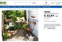 Conjunto para la terraza por 33 euros. ¿Alguno más barato?