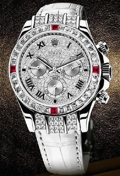 Rolex presenta su reloj-joya