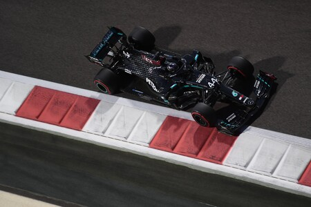 Hamilton Abu Dabi F1 2020