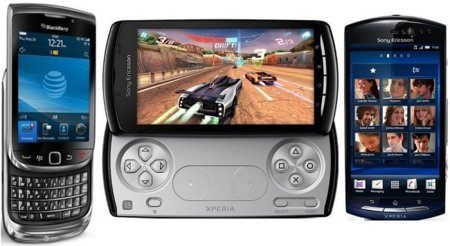 Precios Sony Ericsson XPERIA Neo, XPERIA Play y Blackberry Torch con Orange