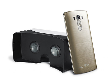 LG también ha creado un visor para realidad virtual