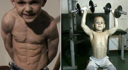 El polémico caso de Giuliano: el niño más fuerte del mundo