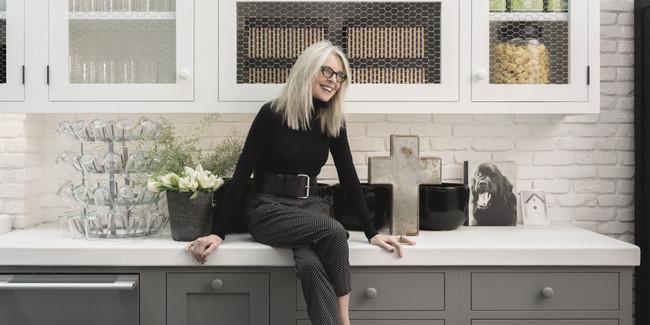Diane Keaton diseña su casa inspirándose en Pinterest y edita un libro explicando el proceso