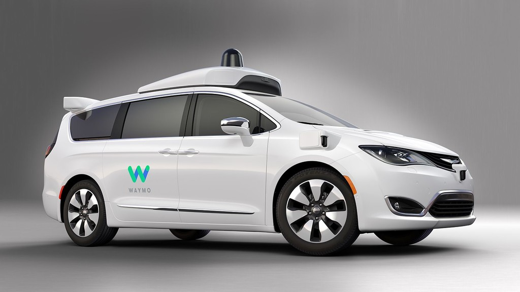 Waymo Fca Fully Self Driving Chrysler Pacifica Hybrid 1