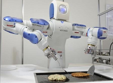 Motoman SDA10, el robot cocinero