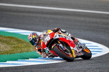 Dani Pedrosa se confirma con la pole del Gran Premio de España, Marc Márquez a rueda