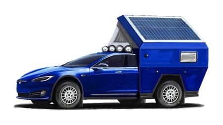 ¿Un Tesla Model S camperizado? ¡Por qué no! Este prototipo debutará la semana que viene en Michigan
