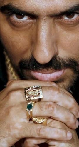 Diego El Cigala, anillos
