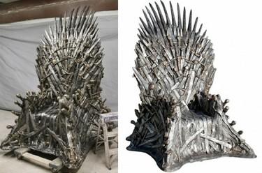 El sillón de 'Juego de Tronos', de la ficción a la realidad de tu salón