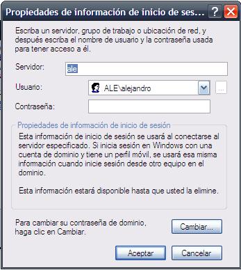 Truco: Crea un acceso directo a la lista de usuarios almacenados en el sistema