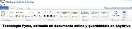 Llega Office Web App, las aplicaciones en la nube según Microsoft