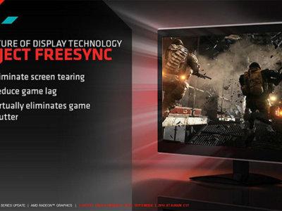AMD, a vueltas con el mercado PC: AMD FreeSync como su apuesta dentro de los monitores