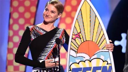 Shailene Woodley triunfa en los premios del público adolescente