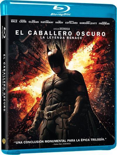 El Caballero Oscuro: La Leyenda Renace en Blu-ray