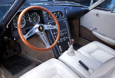 Lamborghini 350 GTV, interior